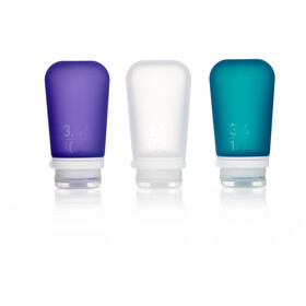 humangear GoToob 100ml pack of 3 purple/turquoise